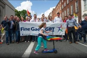 Fine Gael LGBT at Dublin Pride 2014